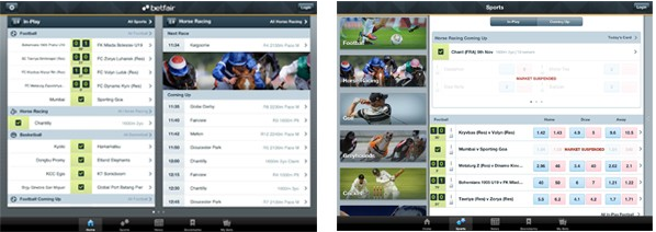 betfair ipad app