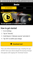 Bwin android app download guide