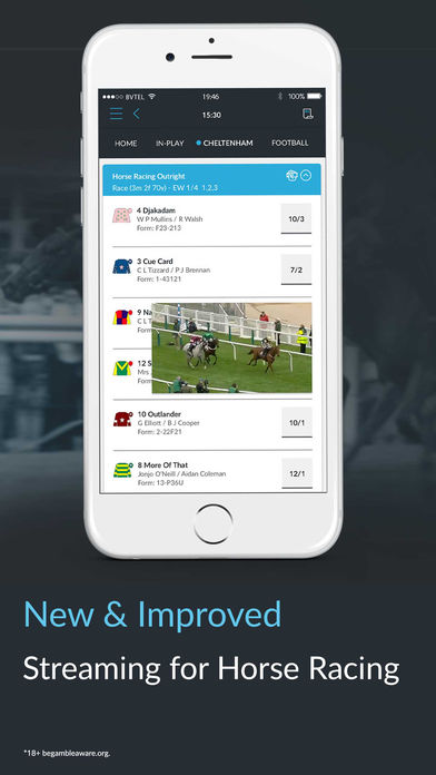 Betvictor iPhone app