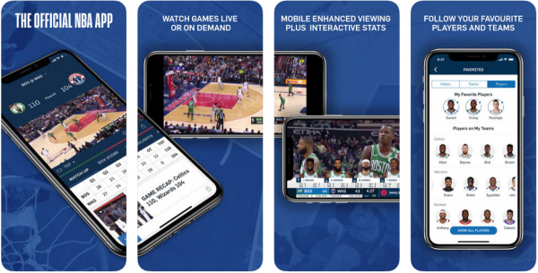 Read our Official NBA app review